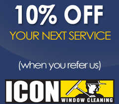 10% Off Your Next Service - ICON Window Cleaning Kansas City