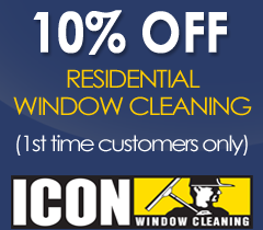 10% Off Residential Window Cleaning - ICON Window Cleaning Kansas City