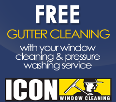 Free Gutter Cleaning - ICON Window Cleaning Kansas City